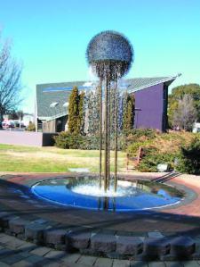 cuvuc Centre fountain