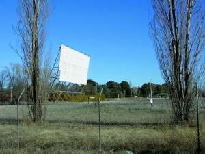 Disused drive-in theatre, Forest Road, Orange NSW