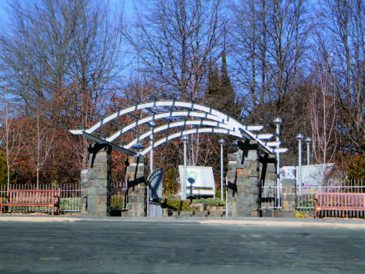 Entry Pergola_botanic garden