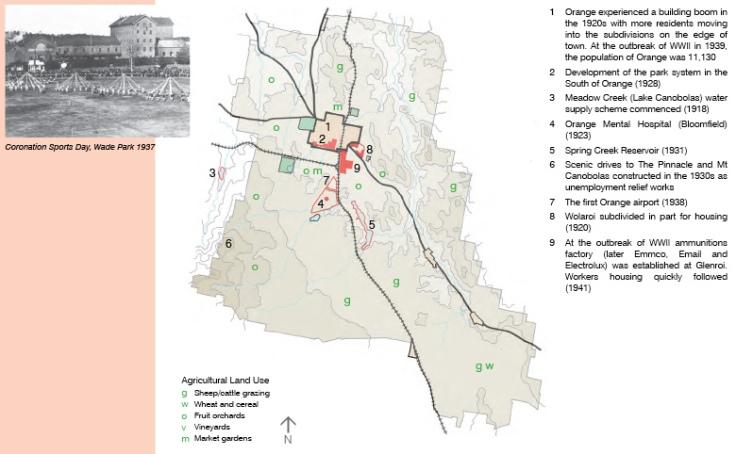 Land Use c1940
