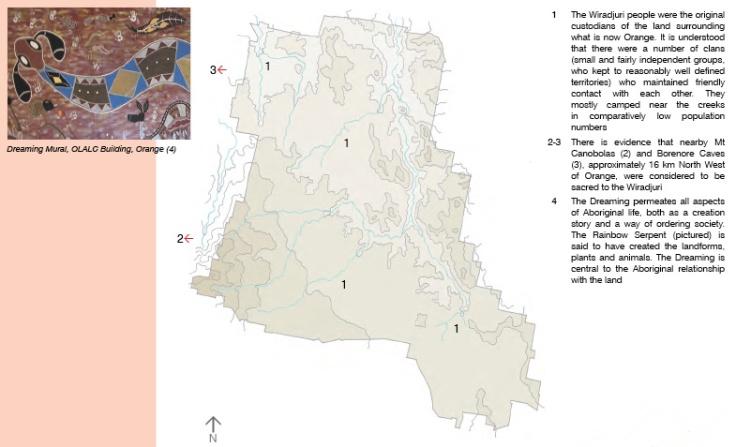 Land Use Pre 1820 Orange NSW