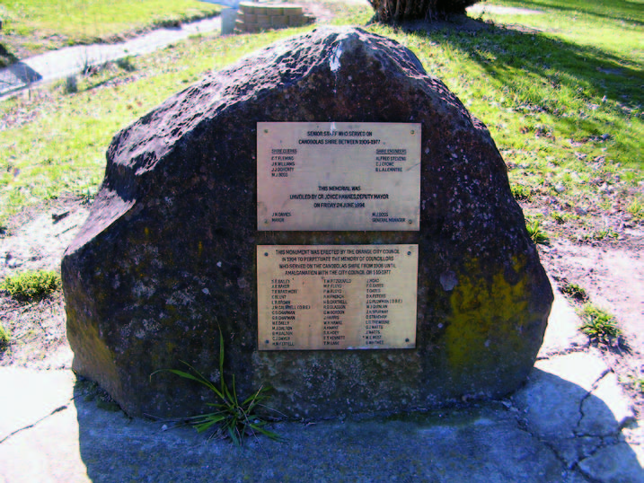 Memory Park monument