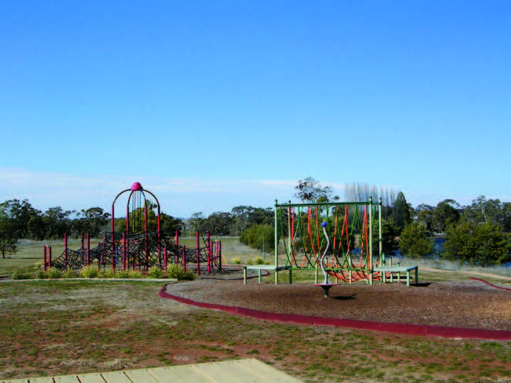 Gosling Creek Reserve: Playground A playground has been